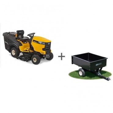 Садовый трактор Cub Cadet XT1 OR95 + Прицеп 340 кг