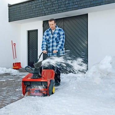 Несамоходные бензиновые снегоуборщики