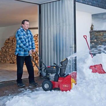 Самоходные бензиновые снегоуборщики
