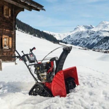 Гусеничные снегоуборщики