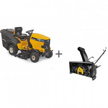 Садовый трактор Cub Cadet XT2 PR106IE + Снегоуборщик Cub Cadet NX15 RD