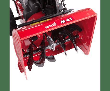Снегоуборочная машина MTD M 61 + масло в подарок!