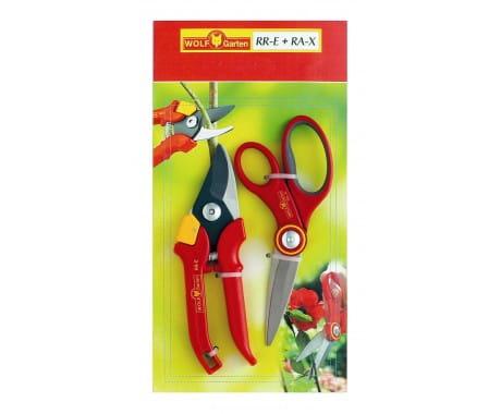 Ножницы многоцелевые и секатор в наборе WOLF-Garten RR-E/RA-X