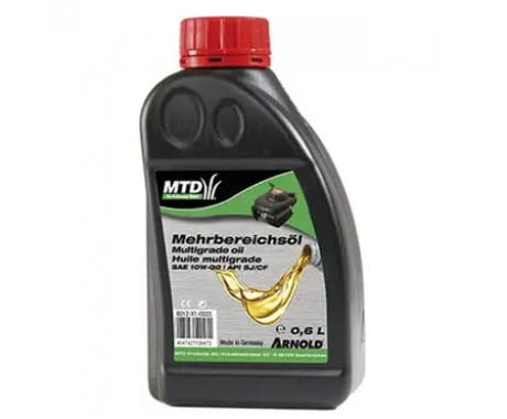 SAE 10W-30 0,6л 6012-X1-0033 в фирменном магазине MTD